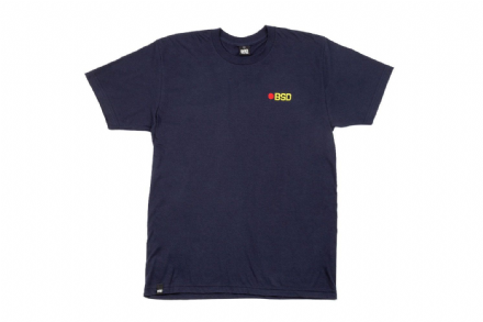 BSD Eject T-Shirt - Navy - Large